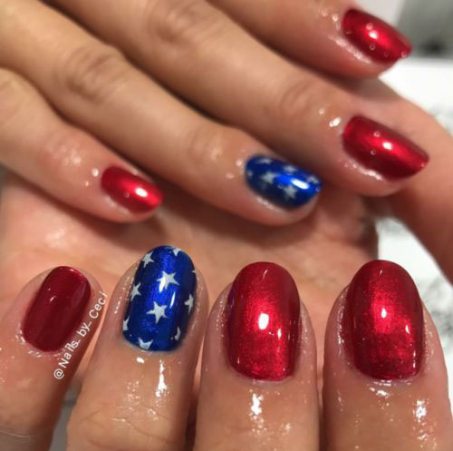 15-Simple-Easy-4th-of-July-Nails-Art-Designs-Ideas-2019-15