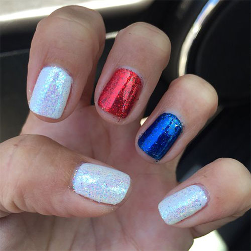 15 Simple & Easy 4th Of July Nails Art Designs & Ideas