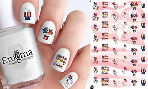 4th-of-July-Nails-Art-Stickers-Decals-2019-1