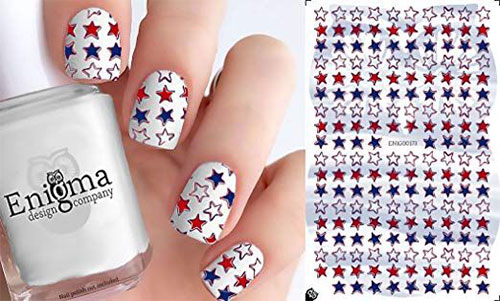 4th-of-July-Nails-Art-Stickers-Decals-2019-2