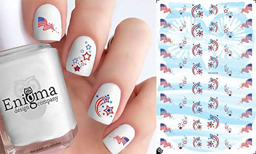 4th-of-July-Nails-Art-Stickers-Decals-2019-3