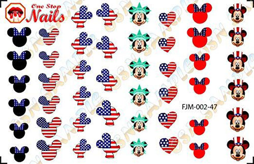 4th-of-July-Nails-Art-Stickers-Decals-2019-4