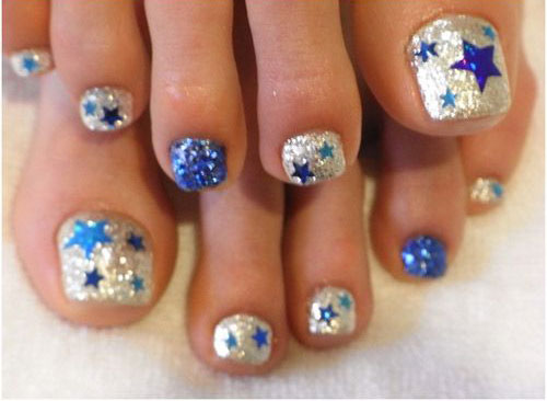4th-of-July-Toe-Nails-Art-Designs-Ideas-2019-3