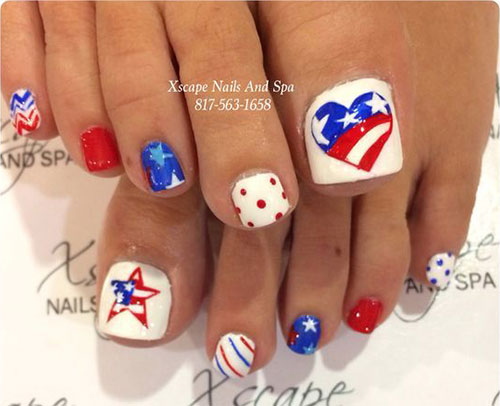 4th-of-July-Toe-Nails-Art-Designs-Ideas-2019-4