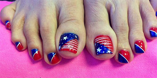 4th-of-July-Toe-Nails-Art-Designs-Ideas-2019-6