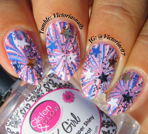 Amazing-4th-of-July-Fireworks-Nail-Art-Designs-Ideas-2019-8