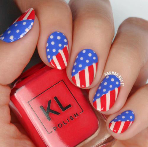 American-Flag-Nail-Art-Designs-Ideas-2019-4th-of-July-Nails-10