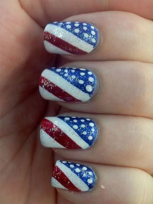 American-Flag-Nail-Art-Designs-Ideas-2019-4th-of-July-Nails-14