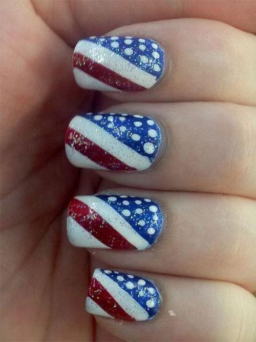 American-Flag-Nail-Art-Designs-Ideas-2019-4th-of-July-Nails-14