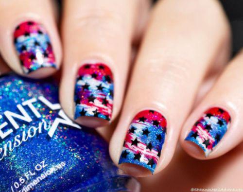 American-Flag-Nail-Art-Designs-Ideas-2019-4th-of-July-Nails-2