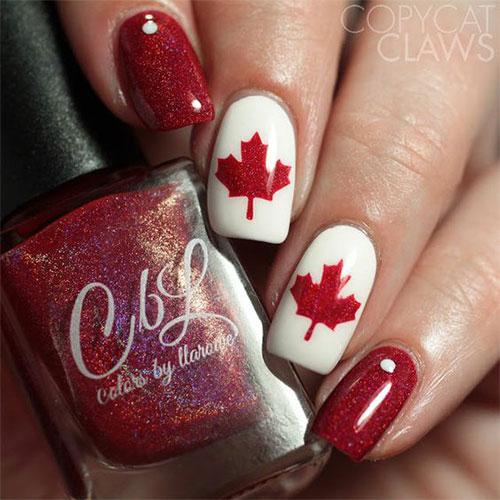 Canada-Day-Nails-Art-Designs-Ideas-2019-13