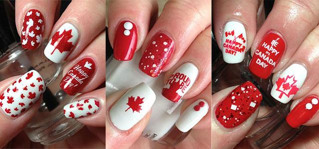 Canada-Day-Nails-Art-Designs-Ideas-2019-F