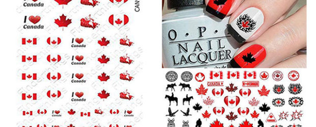 Canada-Day-Nails-Stickers-Decals-2019-F