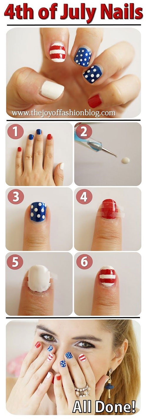 Step-By-Step-4th-of-July-Nails-Tutorials-For-Beginners-2019-5