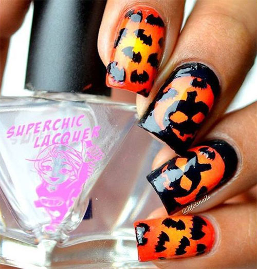 18-Easy-Halloween-Pumpkin-Nails-Art-Designs-Ideas-2019-18