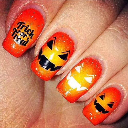 18-Easy-Halloween-Pumpkin-Nails-Art-Designs-Ideas-2019-2