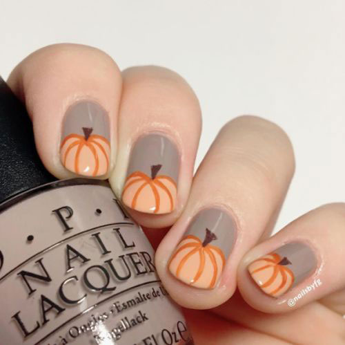 18-Easy-Halloween-Pumpkin-Nails-Art-Designs-Ideas-2019-5