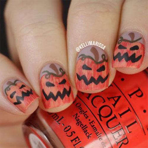 18-Easy-Halloween-Pumpkin-Nails-Art-Designs-Ideas-2019-7