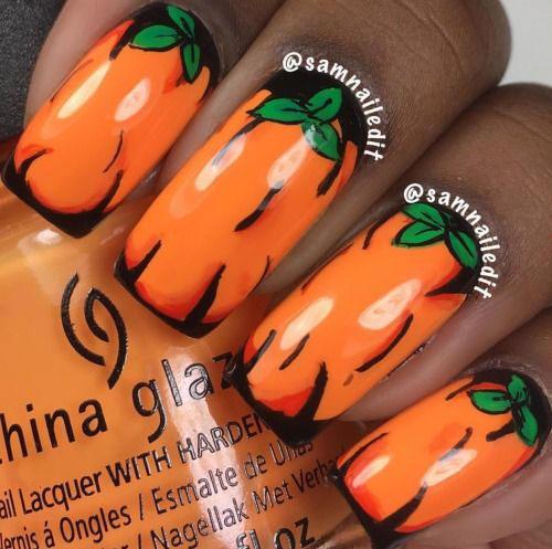 18-Easy-Halloween-Pumpkin-Nails-Art-Designs-Ideas-2019-9