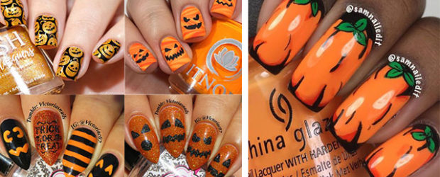 18-Easy-Halloween-Pumpkin-Nails-Art-Designs-Ideas-2019-F
