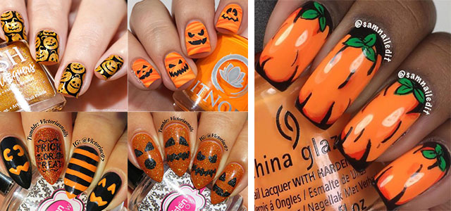 18-Easy-Halloween-Pumpkin-Nails-Art-Designs-Ideas-2019-F