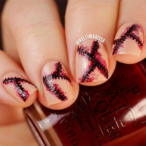 Easy-Simple-Halloween-Nails-Art-Designs-Ideas-2019-11