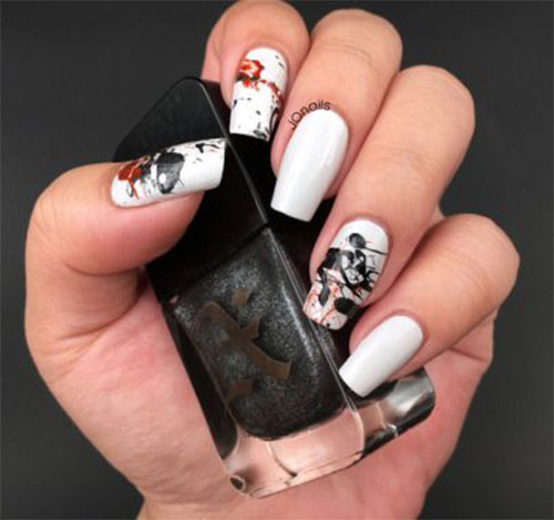 15-Black-White-Red-Halloween-Nails-Art-Designs-Ideas-2019-14