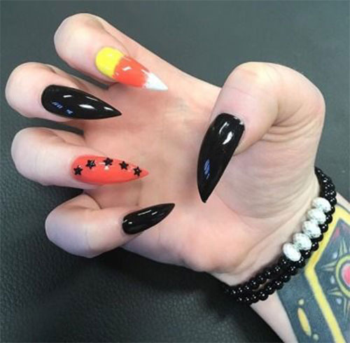 15-Black-White-Red-Halloween-Nails-Art-Designs-Ideas-2019-16