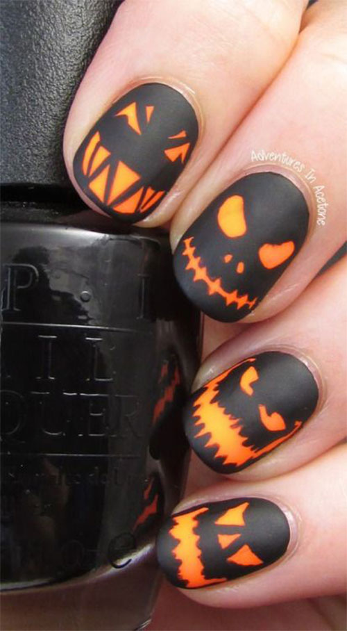 15-Black-White-Red-Halloween-Nails-Art-Designs-Ideas-2019-18
