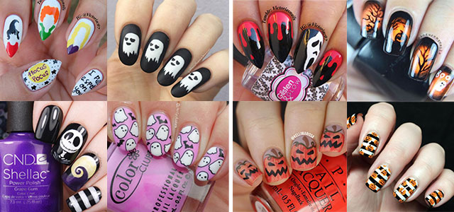 15-Black-White-Red-Halloween-Nails-Art-Designs-Ideas-2019-F