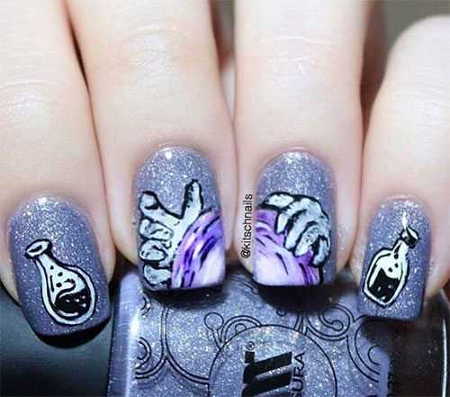15-Halloween-Witch-Nails-Designs-Ideas-2019-7