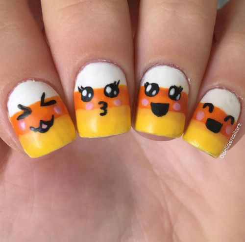 18-Halloween-Candy-Corn-Nails-Art-Designs-Ideas-2019-14