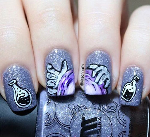 18-Scary-Halloween-Nails-Art-Designs-Ideas-2019-10