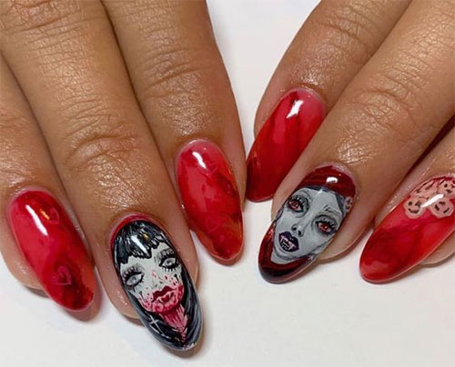 18-Scary-Halloween-Nails-Art-Designs-Ideas-2019-13
