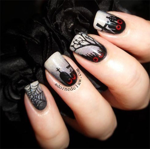 18-Scary-Halloween-Nails-Art-Designs-Ideas-2019-16