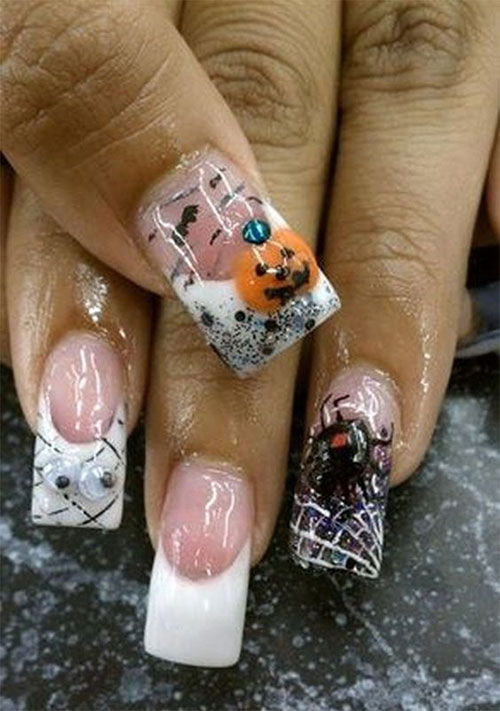 3d-Halloween-Nails-Art-Designs-2019-15