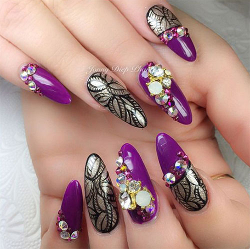 3d-Halloween-Nails-Art-Designs-2019-4