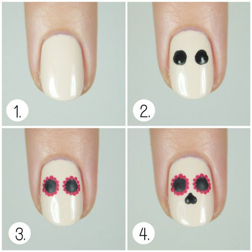 Easy-Step-By-Step-Halloween-Nails-Art-Tutorials-For-Beginners-2019-1