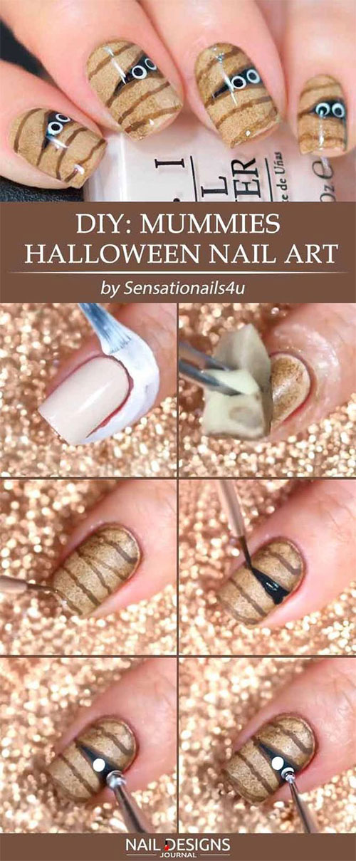 Easy-Step-By-Step-Halloween-Nails-Art-Tutorials-For-Beginners-2019-11