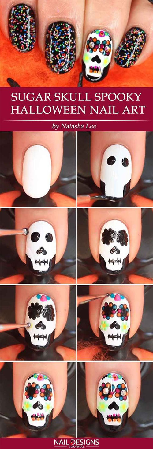 Easy-Step-By-Step-Halloween-Nails-Art-Tutorials-For-Beginners-2019-12