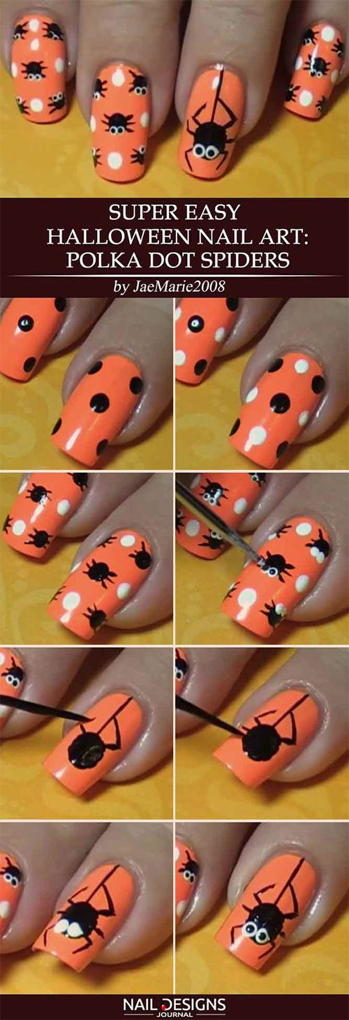 Easy-Step-By-Step-Halloween-Nails-Art-Tutorials-For-Beginners-2019-13