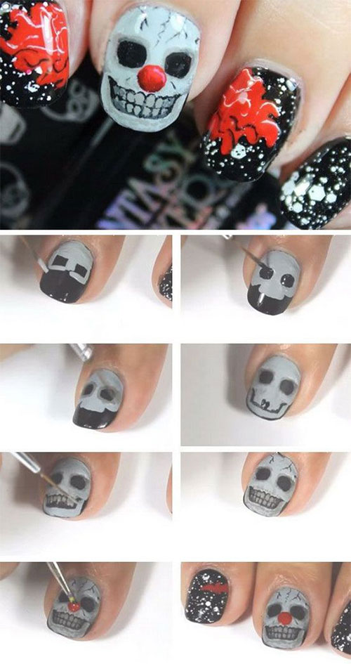 Easy-Step-By-Step-Halloween-Nails-Art-Tutorials-For-Beginners-2019-16