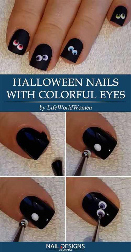 Easy-Step-By-Step-Halloween-Nails-Art-Tutorials-For-Beginners-2019-17