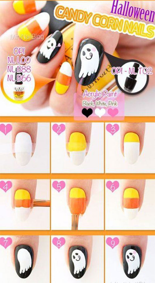 Easy-Step-By-Step-Halloween-Nails-Art-Tutorials-For-Beginners-2019-5