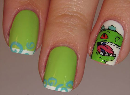 Godzilla-Nail-Art-Designs-Ideas-Trends-2019-Godzilla-Nails-7
