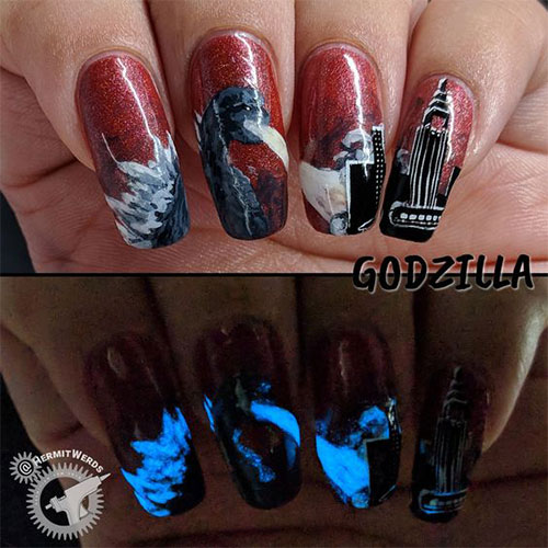 Godzilla-Nail-Art-Designs-Ideas-Trends-2019-Godzilla-Nails-9