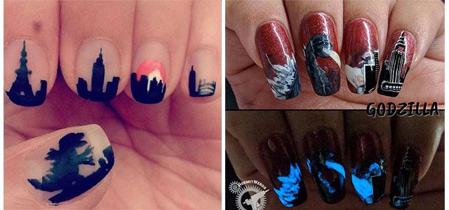 Godzilla-Nail-Art-Designs-Ideas-Trends-2019-Godzilla-Nails-F