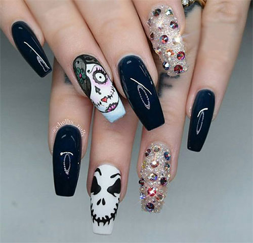 Halloween-Acrylic-Nails-Art-Designs-Ideas-2019-3