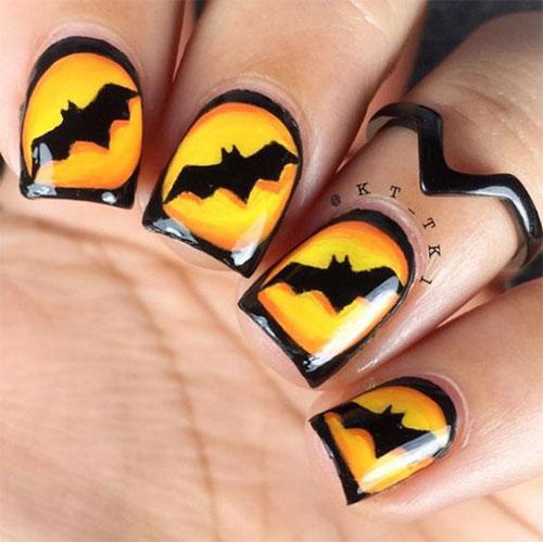 Halloween-Bat-Nails-Art-Designs-Ideas-2019-6