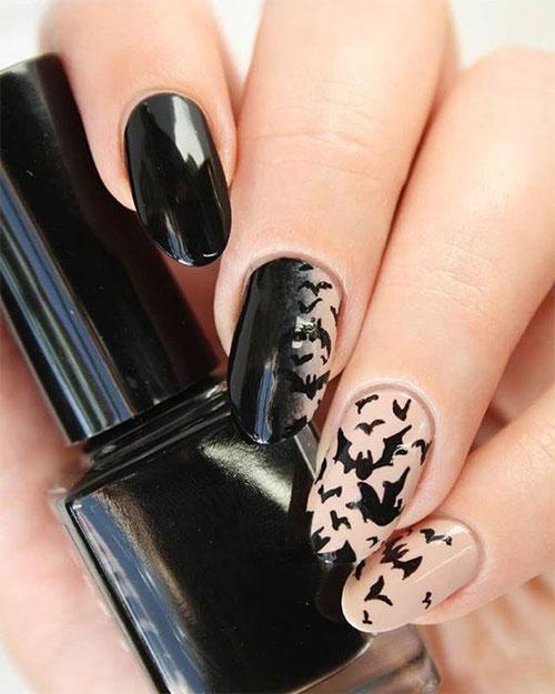 Halloween-Bat-Nails-Art-Designs-Ideas-2019-9